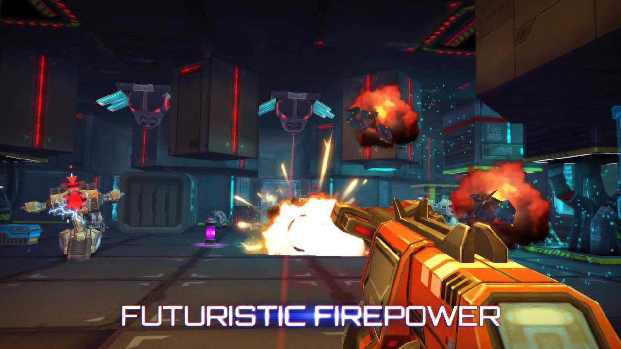 Screenshot of Neon Shadow