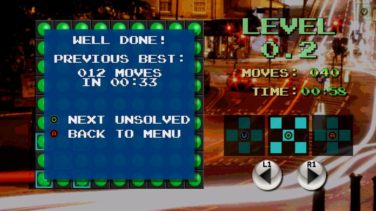 Screenshot of StopLight Puzzle