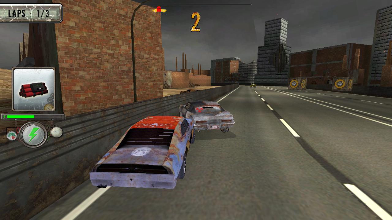 Screenshot of the roads of apocalypse