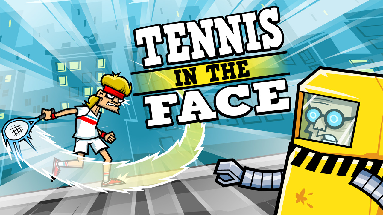 Screenshot of Tennis in the Face