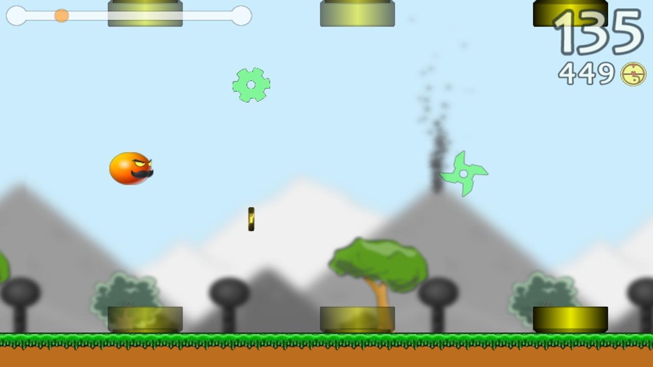 Screenshot of Flying Orange