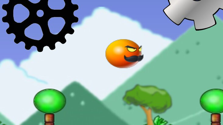 Screenshot of ../game/com.tinyorange.flyingorange.htm