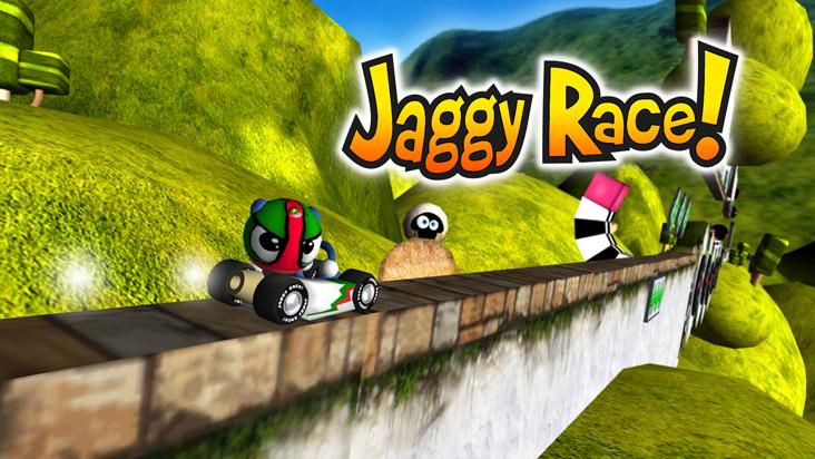 Screenshot of ../game/com.tiz777.jaggyrace.htm