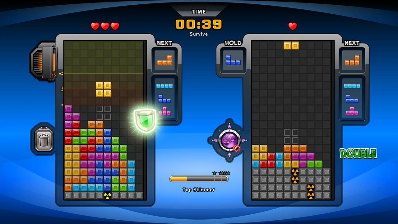 Screenshot of Tetris Battle Fusion