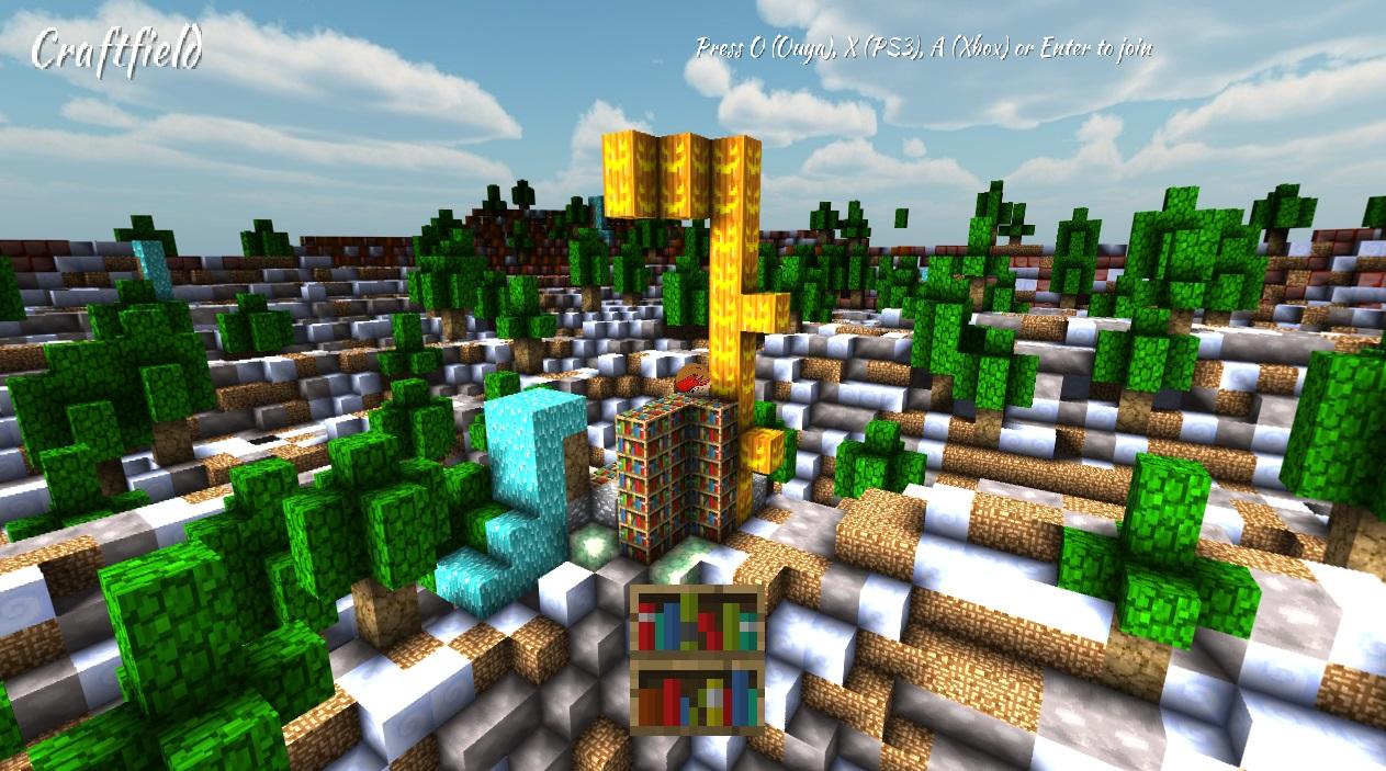 Screenshot of Craftfield