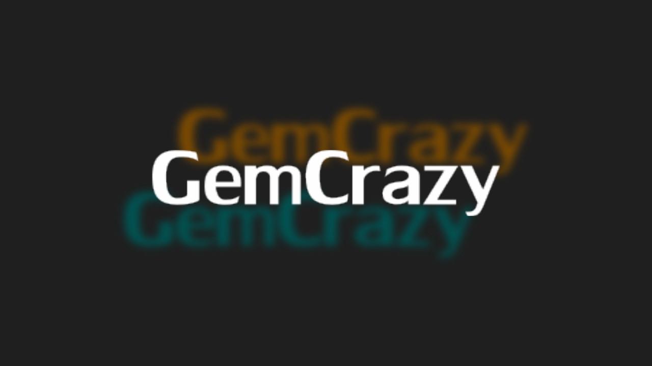 Screenshot of GemCrazy