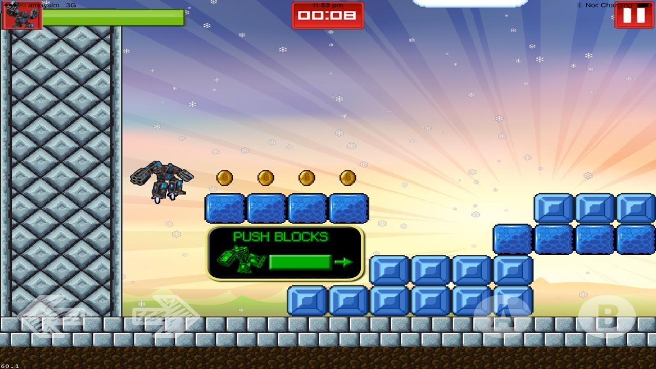 Screenshot of Boris Bot Shootem: the One Armed Bot