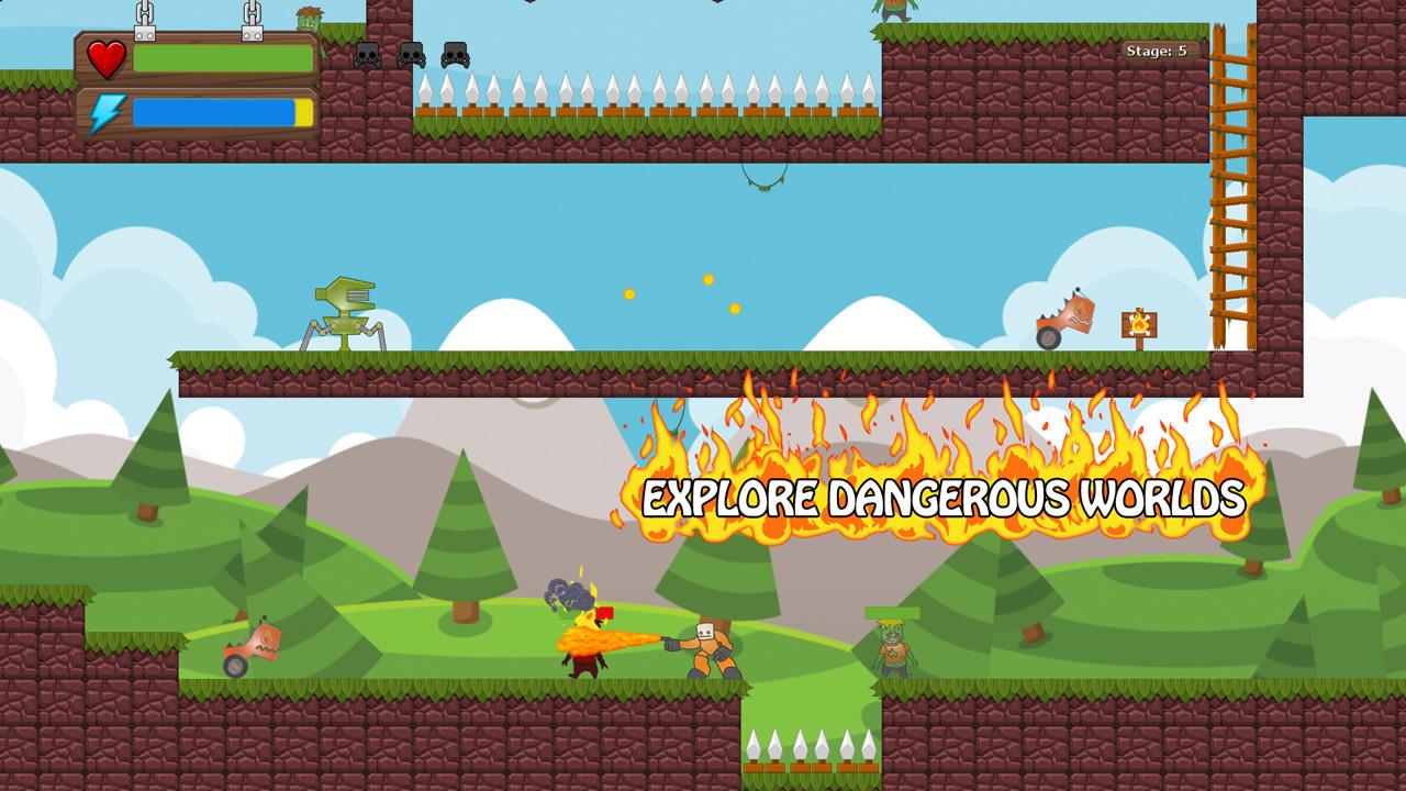 Screenshot of That Orange Guy