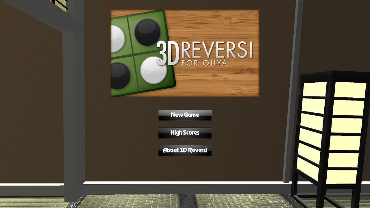 Screenshot of 3D Reversi for OUYA