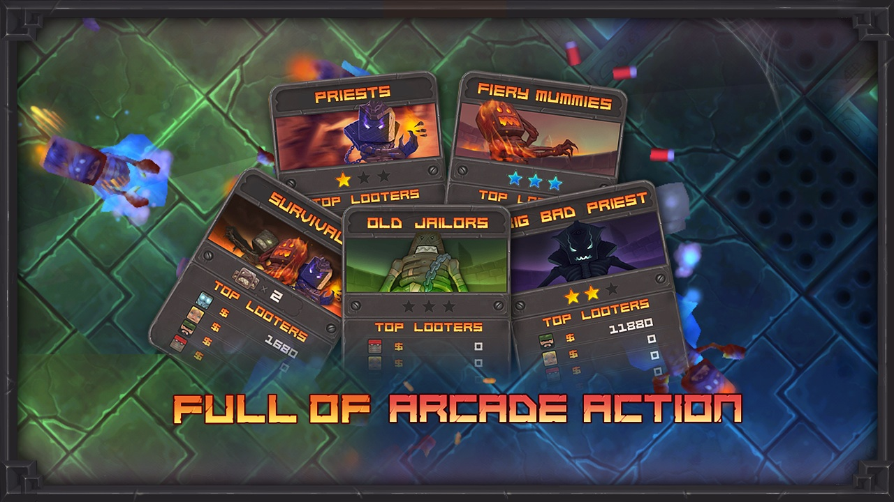 Screenshot of Raiding Company - Co-op Arcade Shooter!