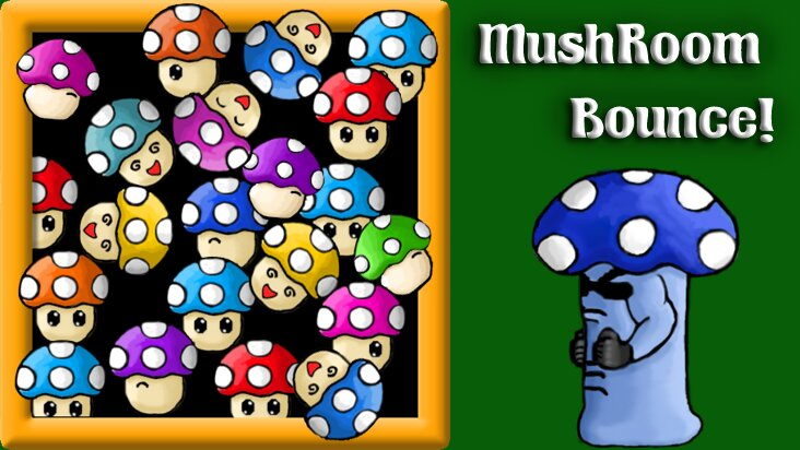 Screenshot of ../game/com.twosquidgames.mushroombounce.htm
