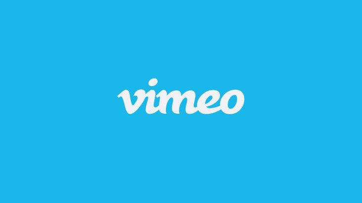 Screenshot of Vimeo