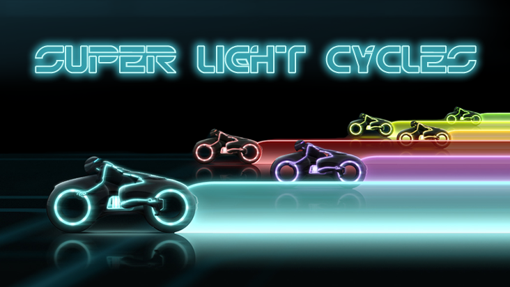 Screenshot of ../game/com.voornmutimedia.superlightcycles.htm