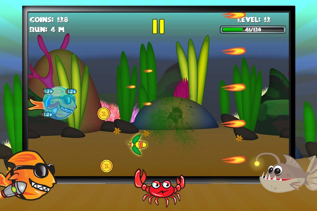 Screenshot of Sushi the Fish