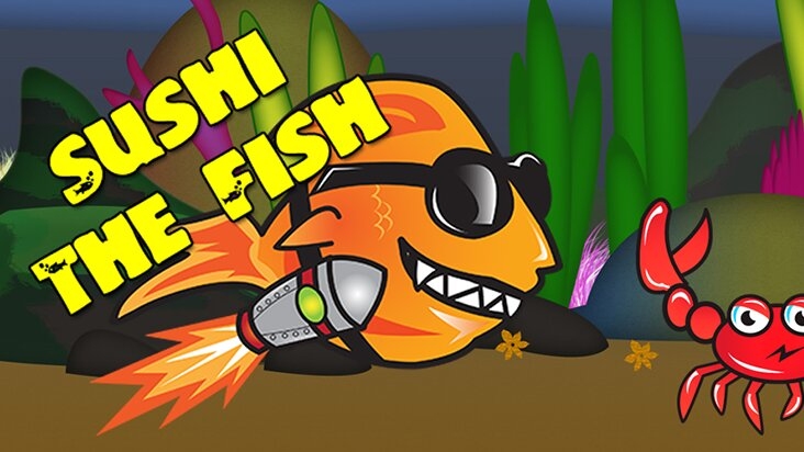 Screenshot of ../game/com.waterbreadinternet.sushifish.htm