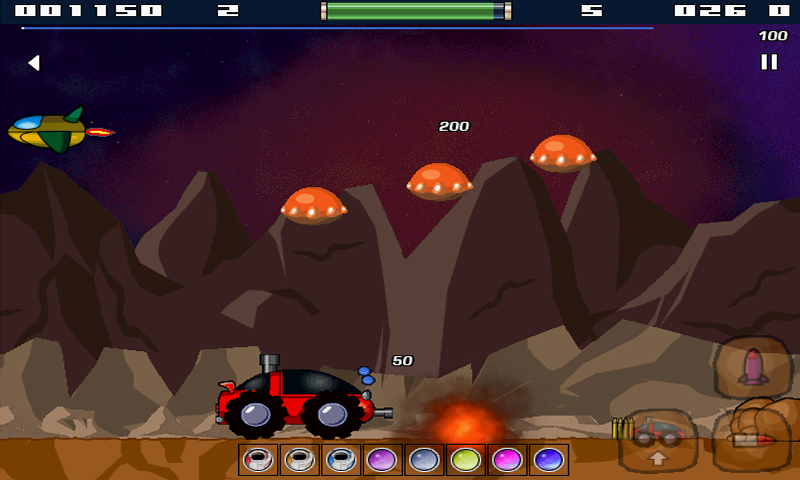 Screenshot of Space Rover FREE