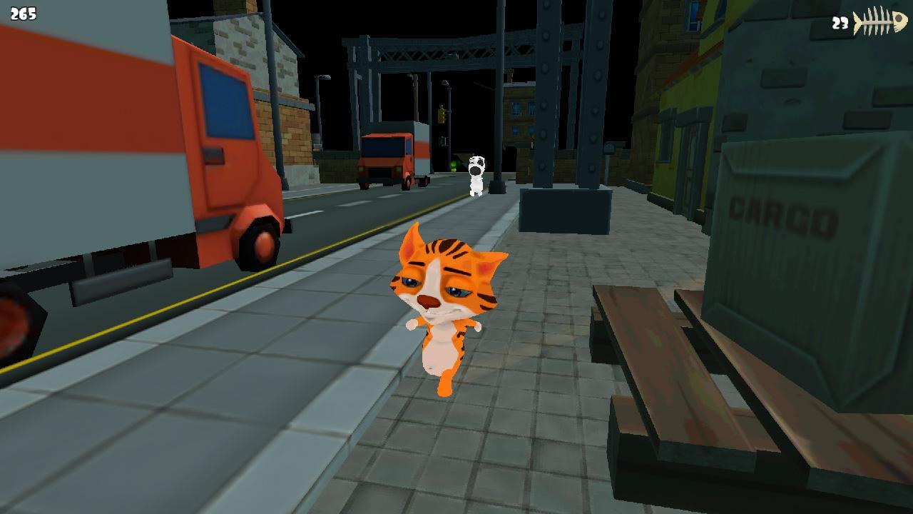 Screenshot of Alley Cat Simulator