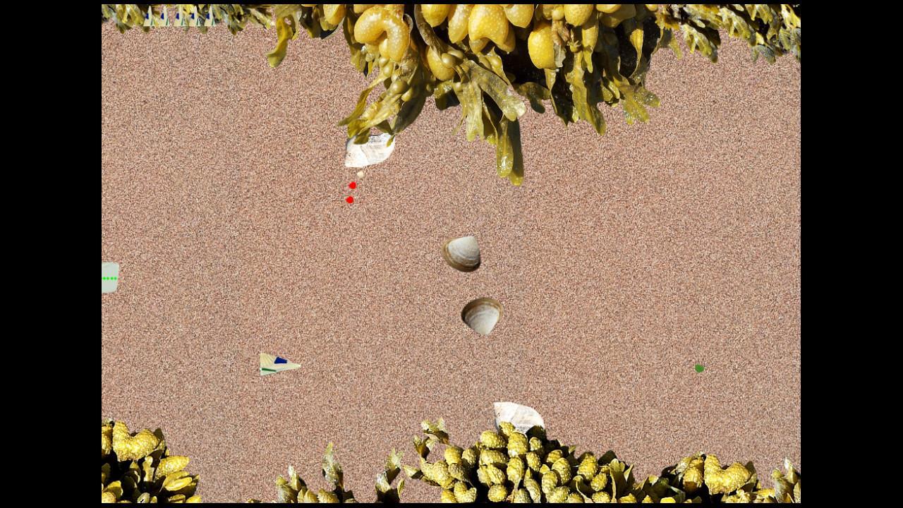 Screenshot of Sea Glass Beach Blaster