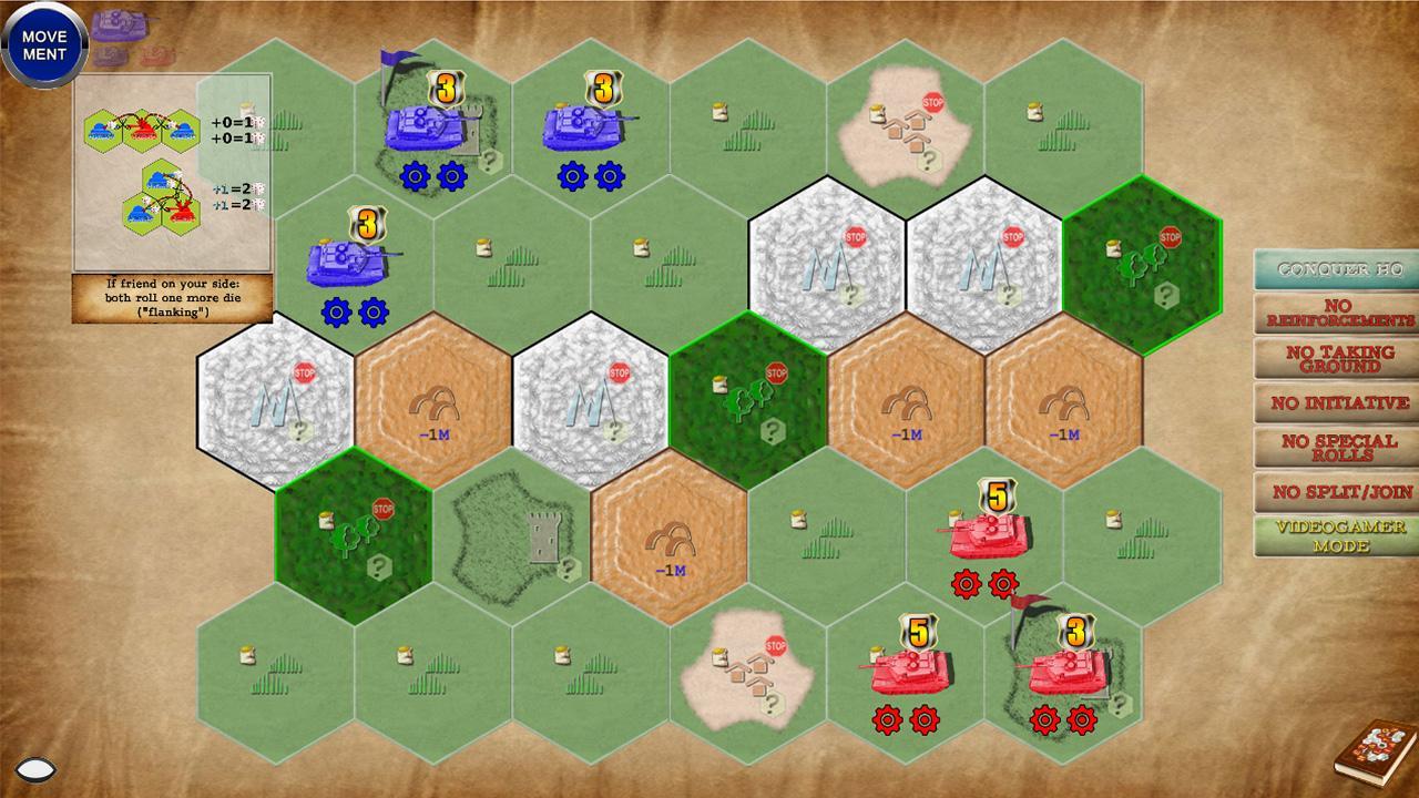 Screenshot of Retaliation Path of War