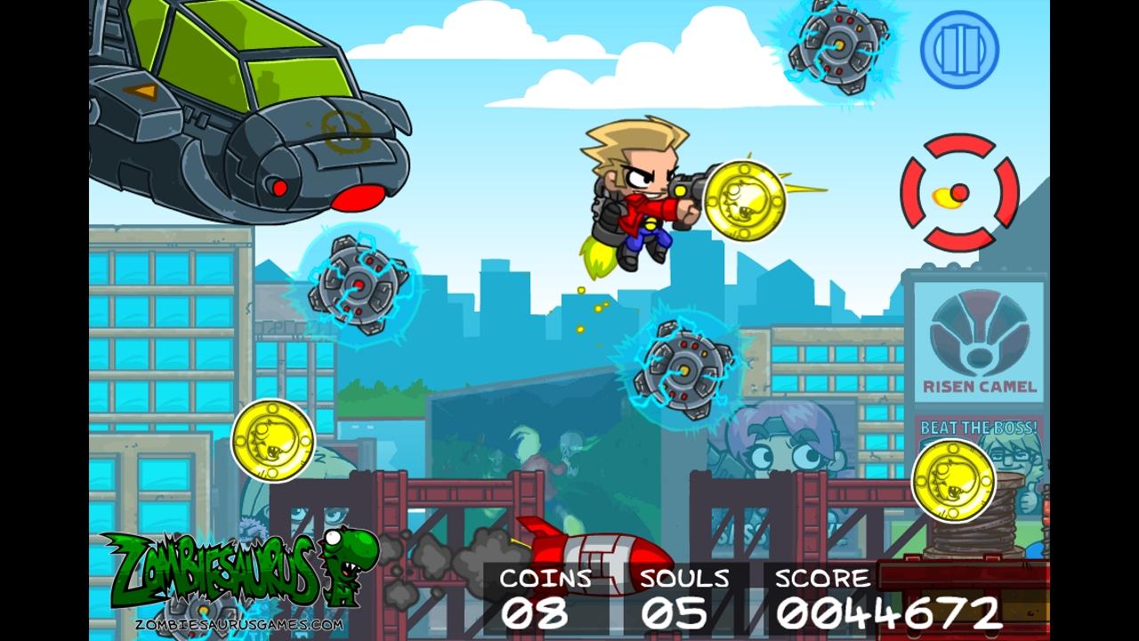 Screenshot of Soul Grinder