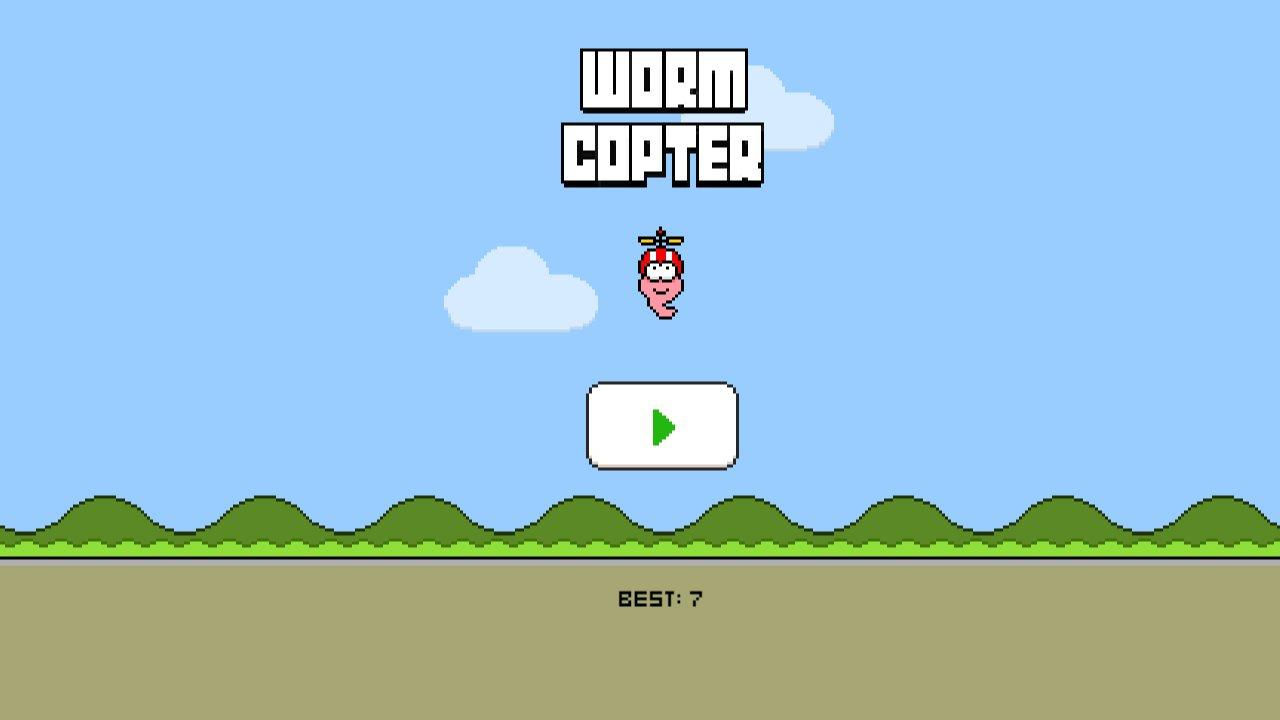 Screenshot of Worm Copter
