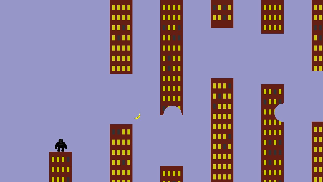 Screenshot of Flappy Gorillas