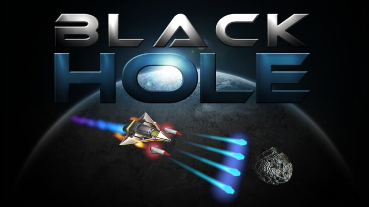 Screenshot of ../game/de.dufgames.blackhole.htm