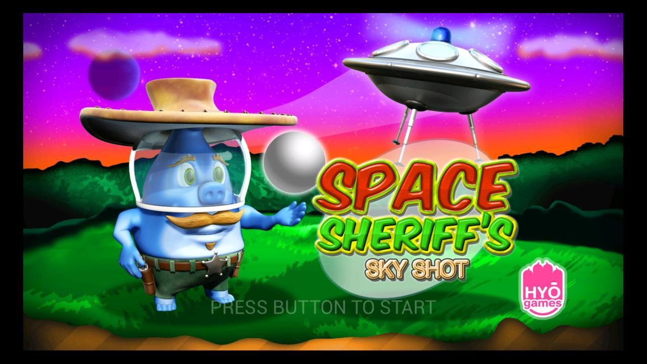 Screenshot of Space Sheriff's Sky Shot