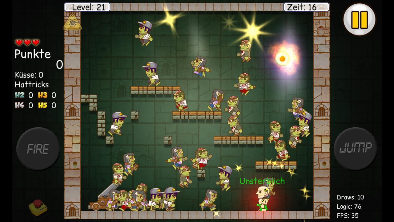 Screenshot of Bubblr in trouble HD