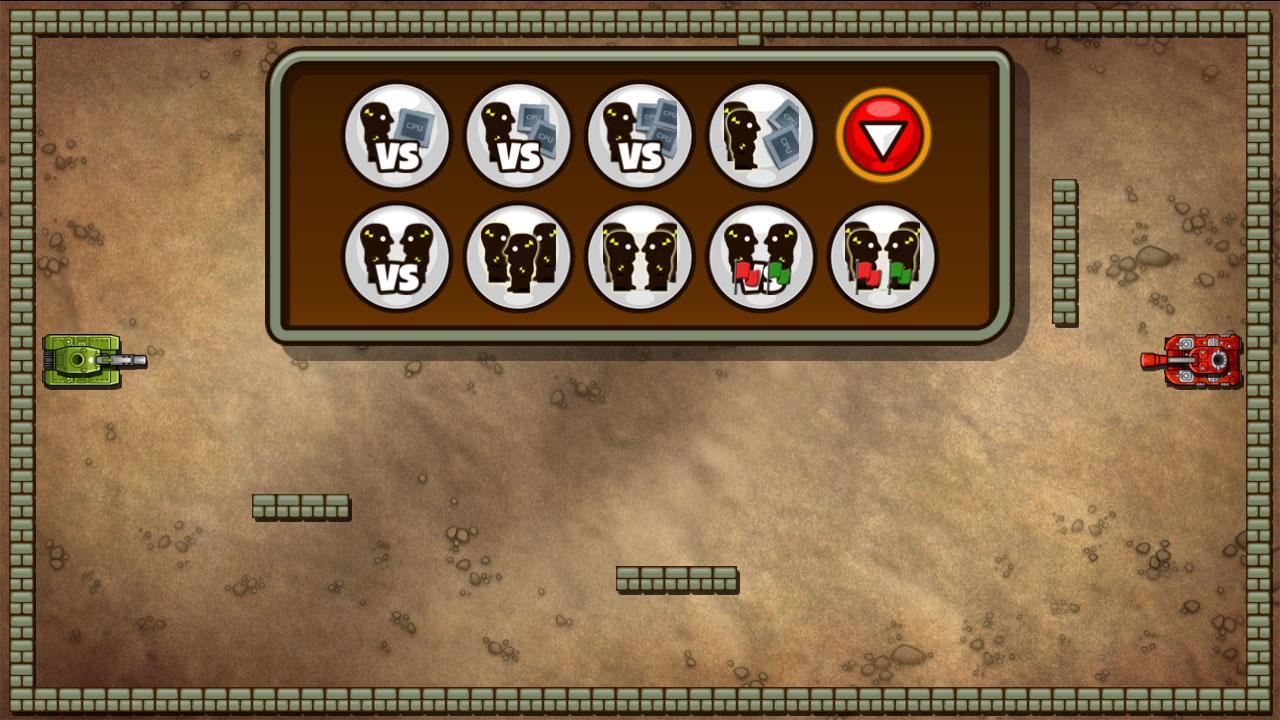 Screenshot of TankWar