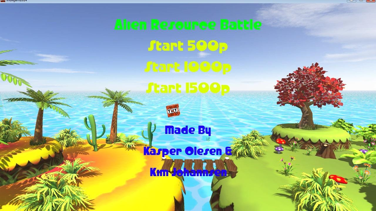 Screenshot of Alien Resource Battle