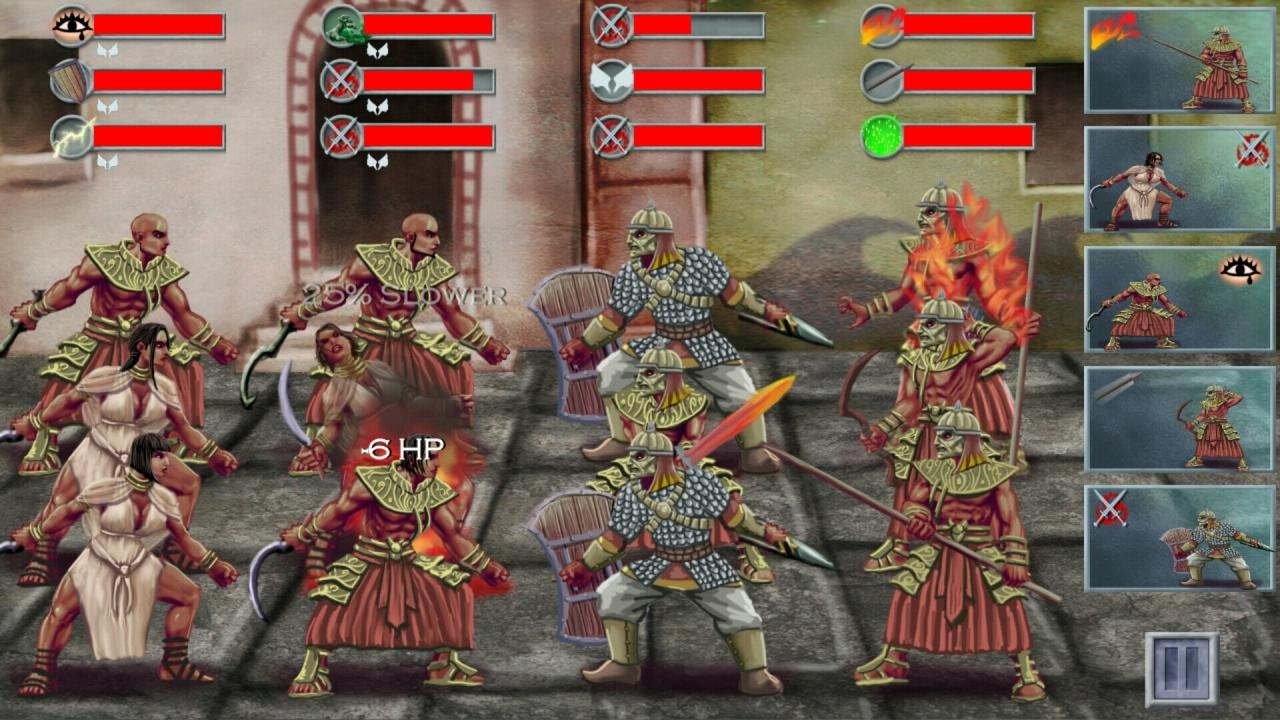 Screenshot of Tales of Illyria:Beyond the Iron Wall