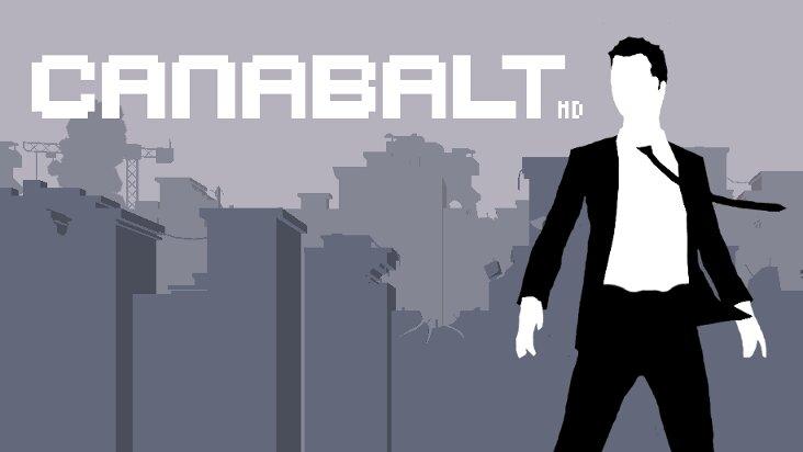 Screenshot of Canabalt HD