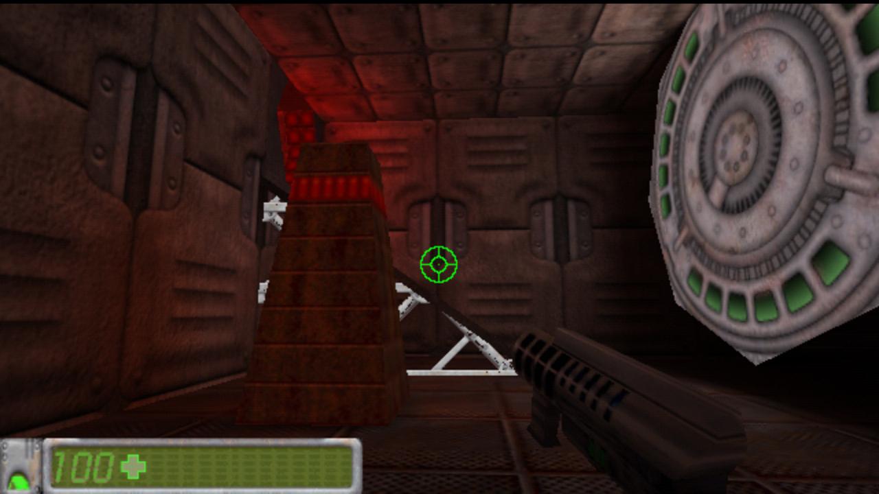 Screenshot of BattleZone Mars