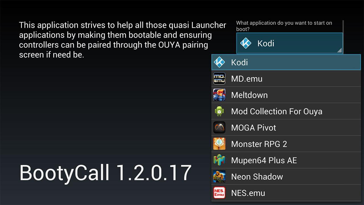 Screenshot of BootyCall