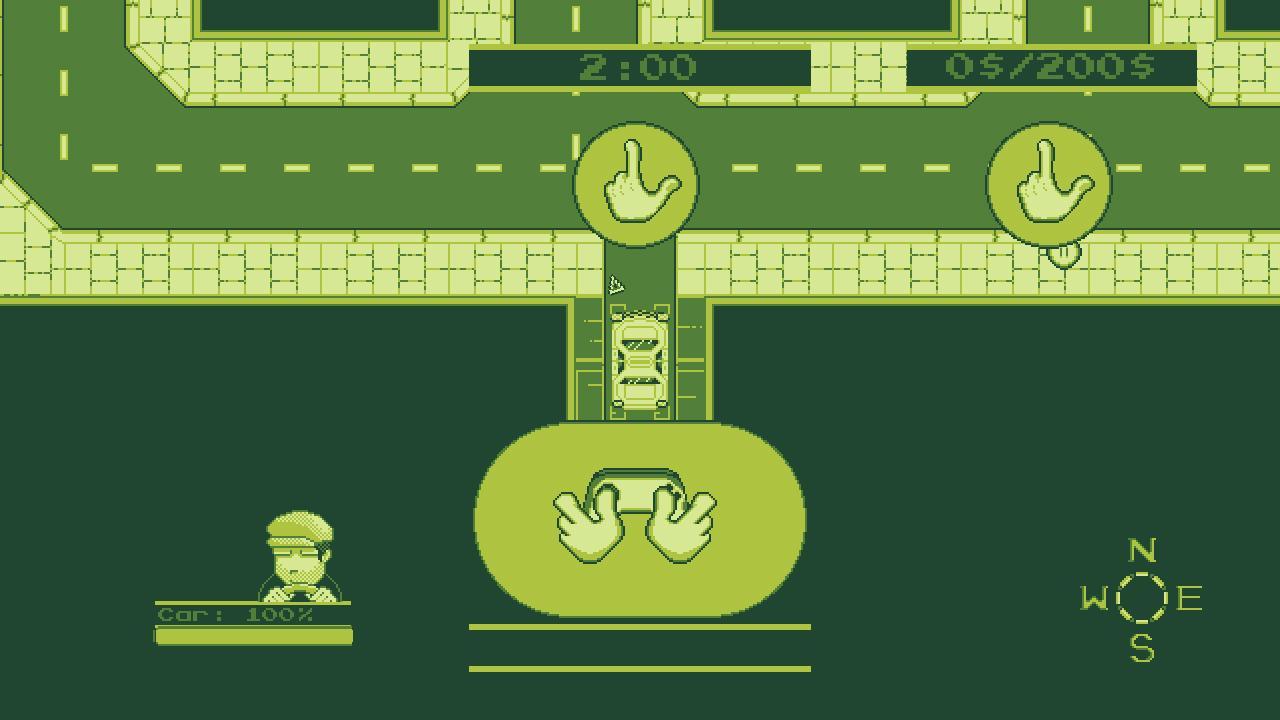 Screenshot of 4-Color Taxi