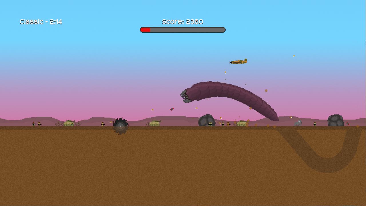 Screenshot of Hellworm
