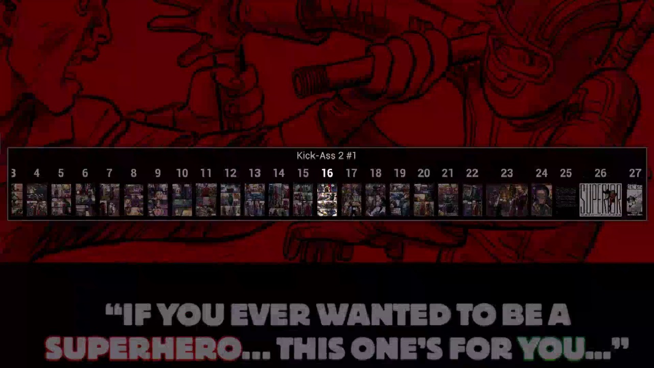 Screenshot of Comics Reader OUYA Edition!