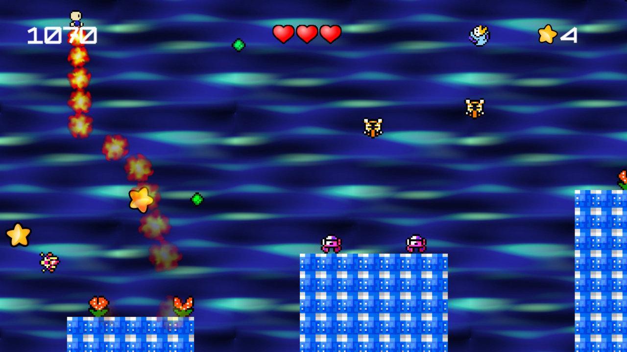 Screenshot of Super Pyro Runner