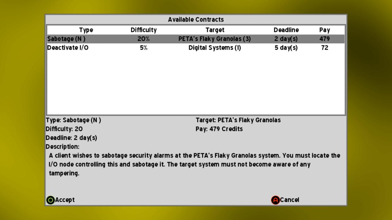 Screenshot of CyberDeck