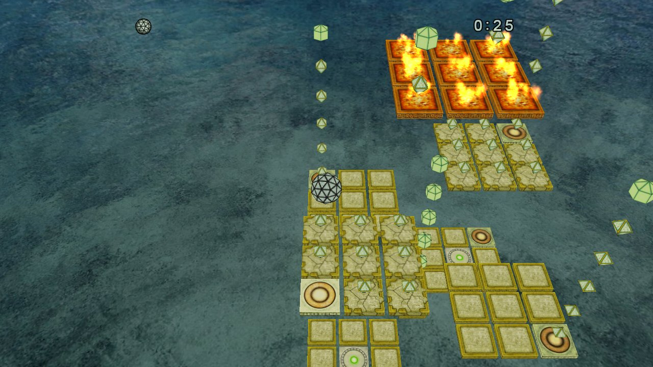 Screenshot of Sky Maze 3D