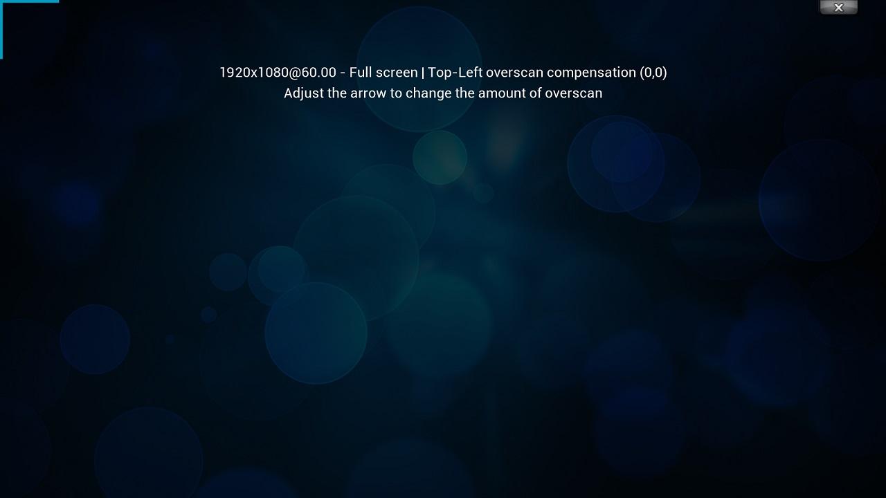 Screenshot of XBMC on OUYA
