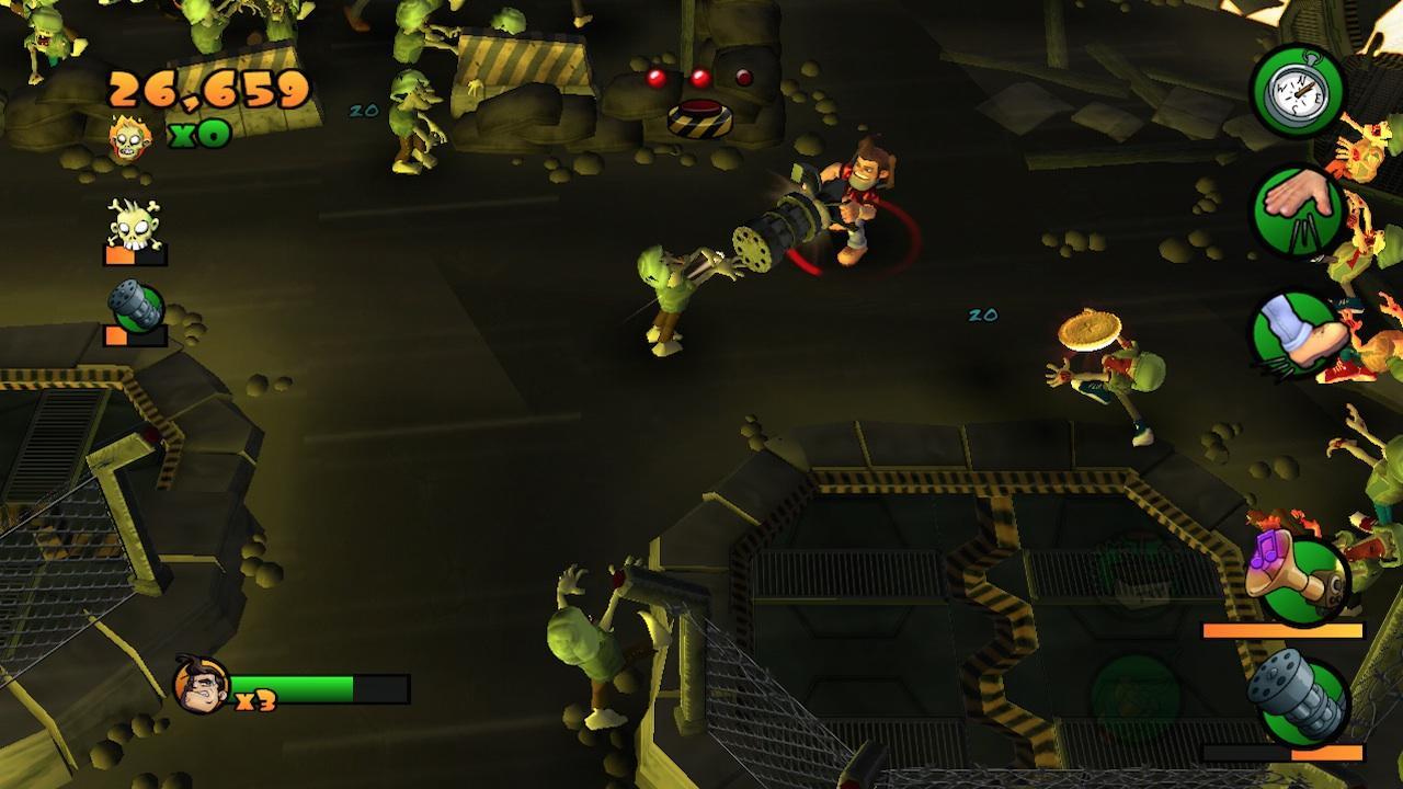 Screenshot of Burn Zombie Burn!