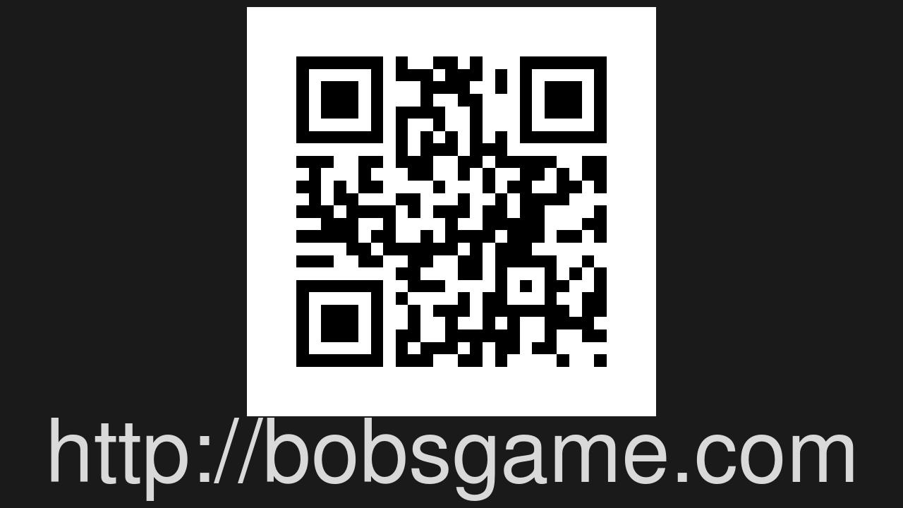 Screenshot of bob's game