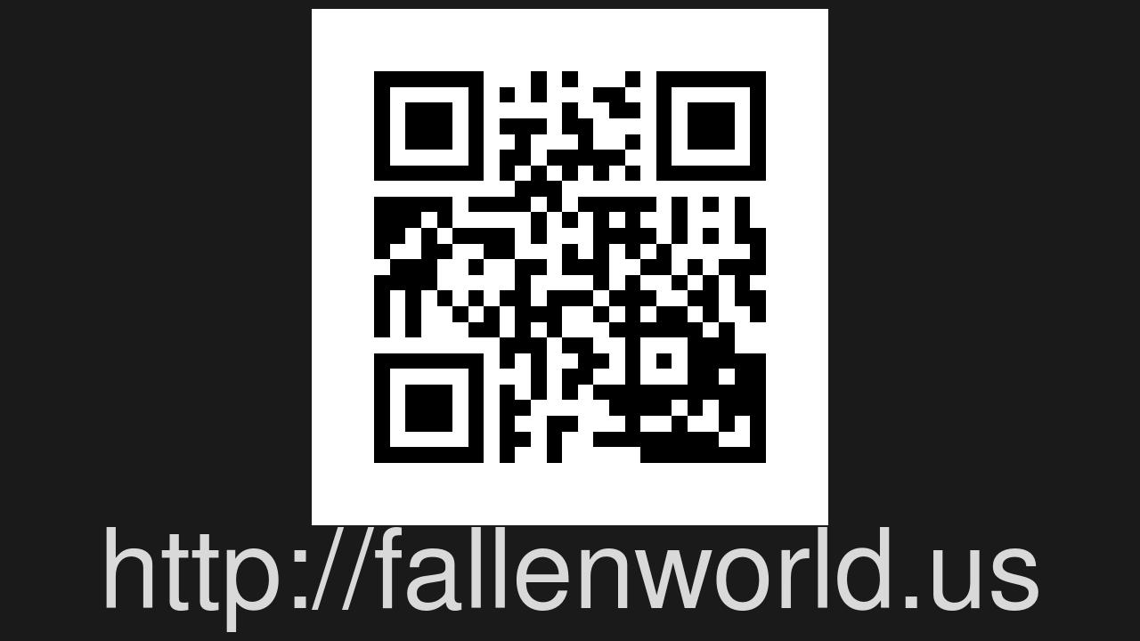 Screenshot of FallenWorld