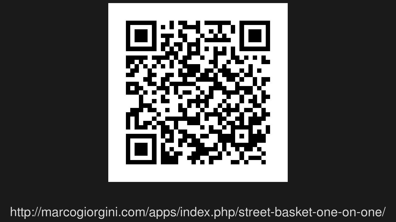 Screenshot of Street Basket: One on One