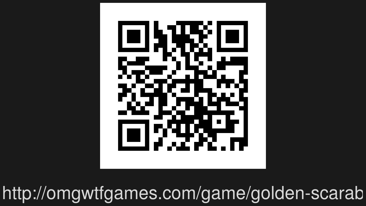 Screenshot of Golden Scarab
