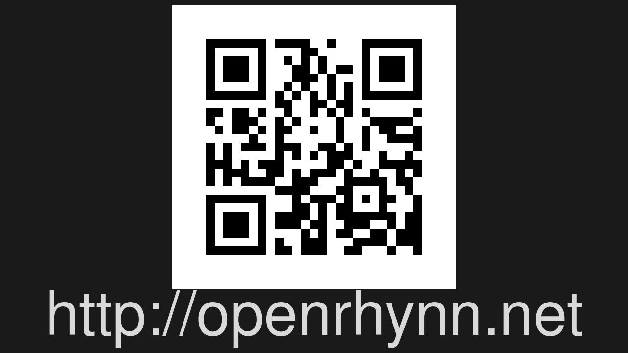 Screenshot of OpenRhynn