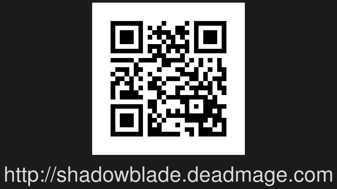 Screenshot of Shadow Blade