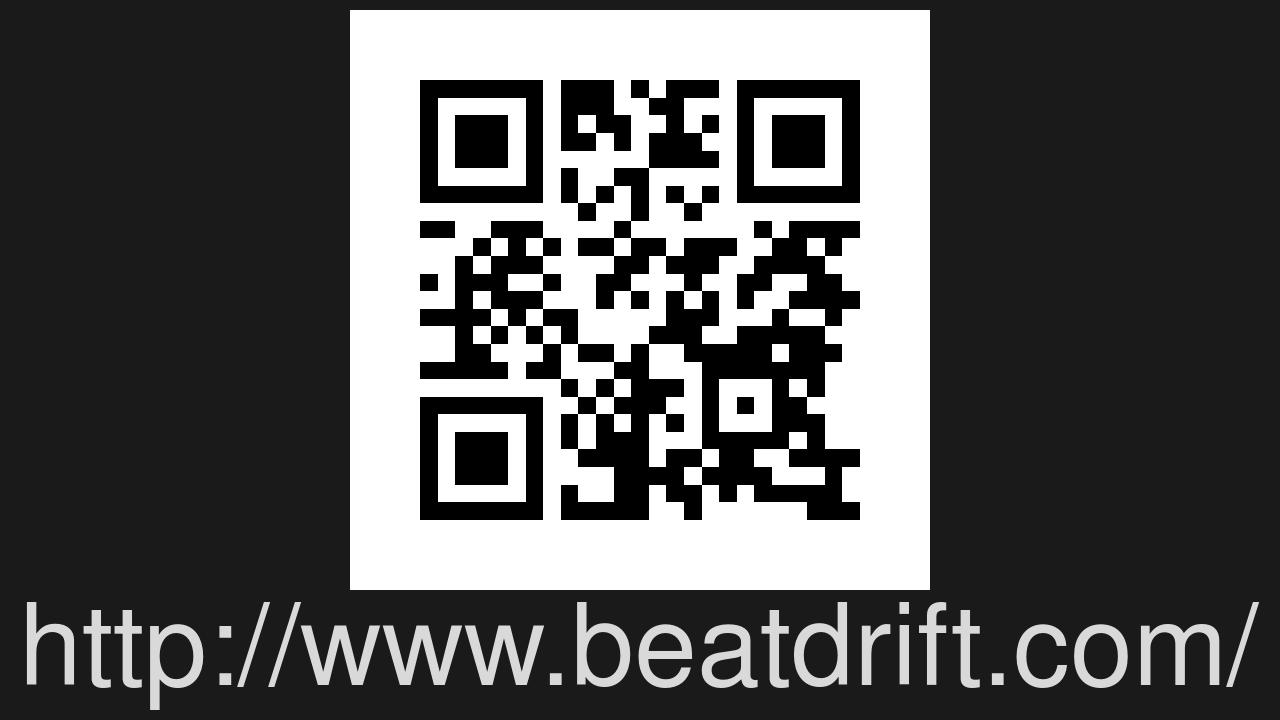 Screenshot of BEAT DRIFT
